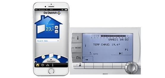 visuel diematic et screenshot de l'application