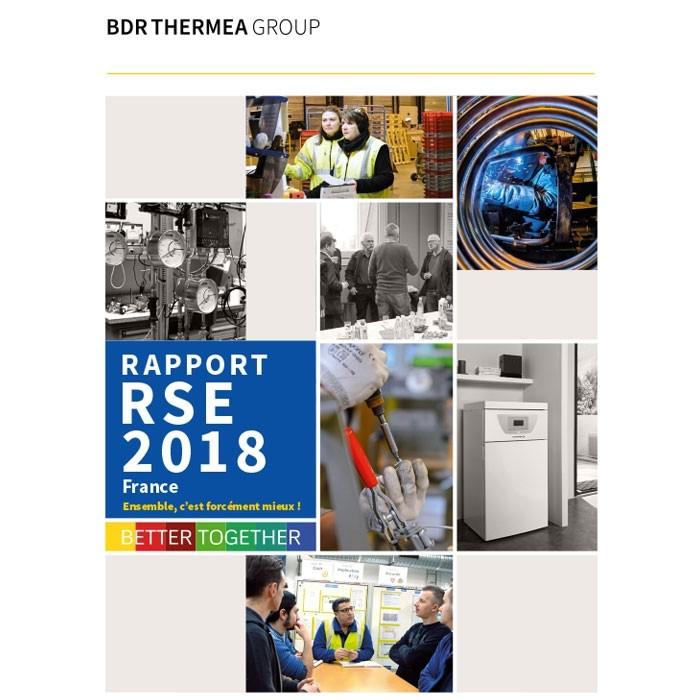 couverture du rapport rse 2018