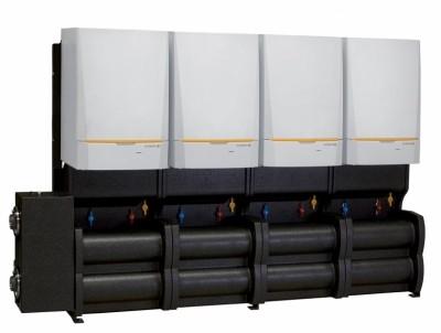 Systèmes cascades complets Innovens PRO composés de 2 à 4 chaudières