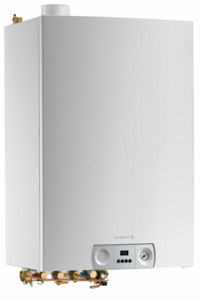 Chaudière murale gaz à condensation MCX Bic Plus pour chauffage et production eau chaude sanitaire par préparateur intégré