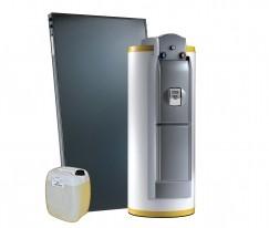 Systèmes solaires cesi Dietrisol Trio D avec appoint hydraulique et électrique