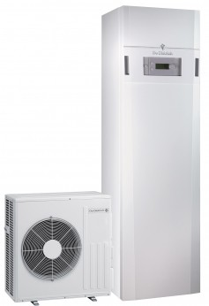 Pompes à chaleur air/eau avec appoint électrique 3kW intégré