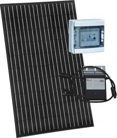 Photo produit kit solaire photovoltaïque auto-consommation