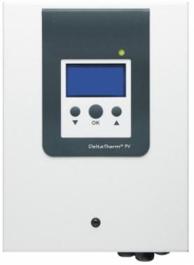 Kit d'optimisation de l'auto consommation de l'électricité produite par un champ de capteurs photovoltaïques.