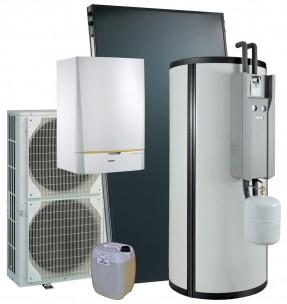 Systèmes solaires SSC Dietrisol Quadro SolarSystem pour eau chaude sanitaire solaire