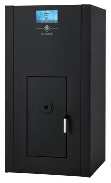 Chaudière compacte à granulés de bois pour chauffage central à eau chaude