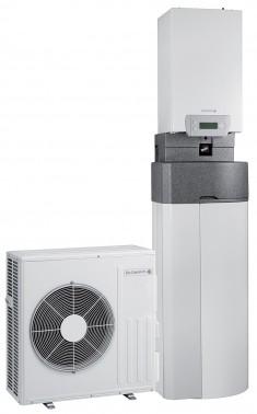 pompe à chaleur air eau compact avec préparateur ecs