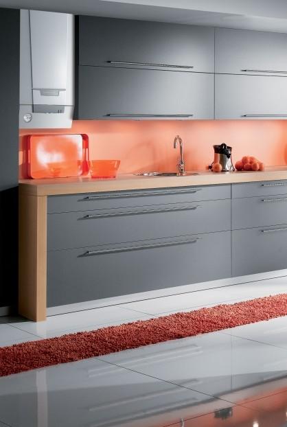 Chaudière murale Naneo dans une cuisine