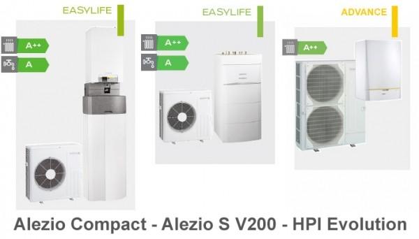 Pompe à chaleur air eau avec eau chaude sanitaire