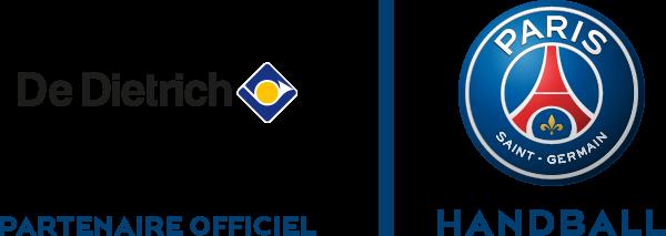 Logo De Dietrich et PSG Handball