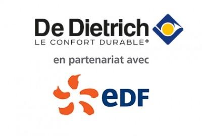 Prime énergie De Dietrich en partenariat avec EDF